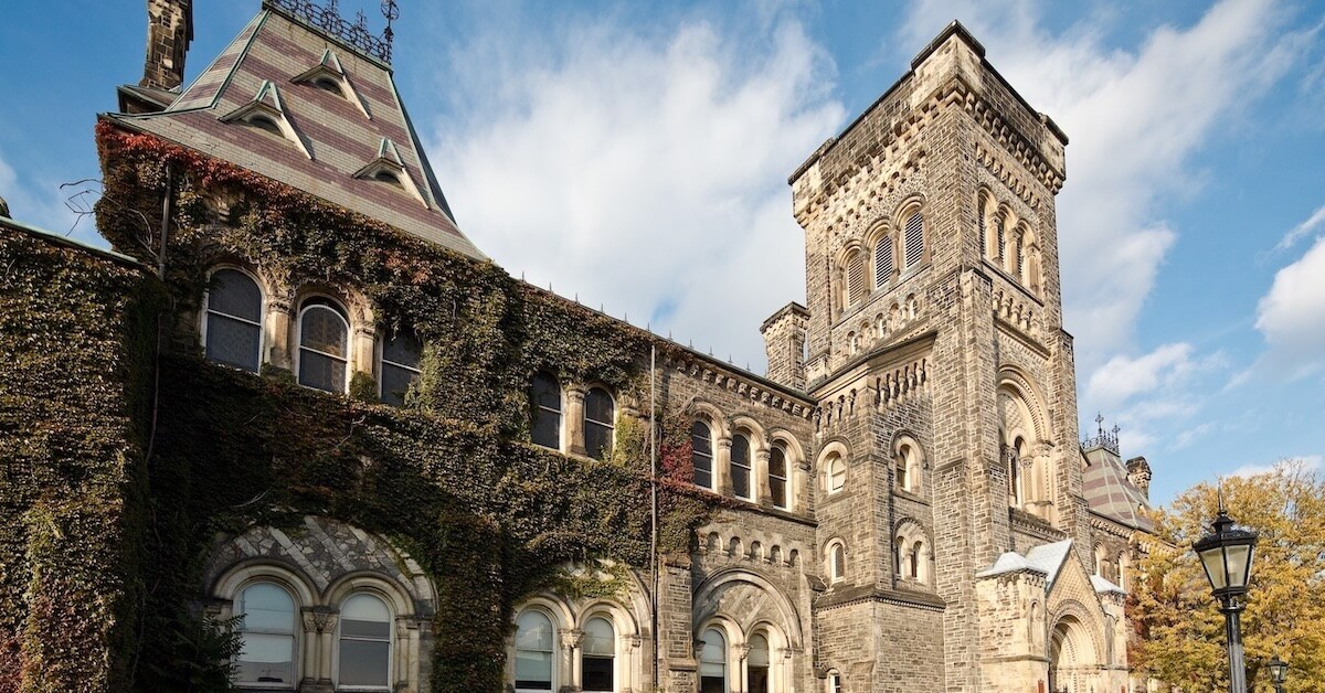 how to apply to university in Canada image of building