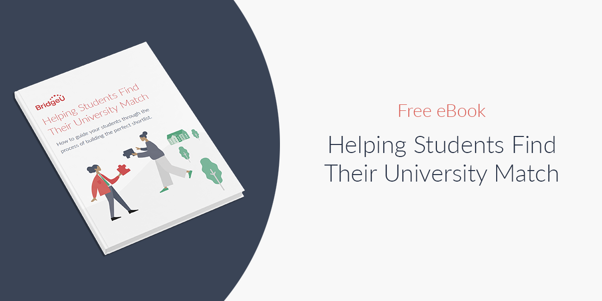 Helping Students Find Their University Match eBook